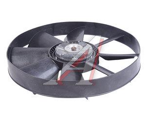 Вентилятор КАМАЗ-ЕВРО 654мм с вязкостной муфтой и обечайкой в сборе (дв.740.30,31,CUMMINS) 020002741, 6311385A