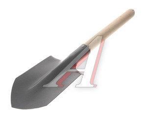 Лопата автомобильная с деревянным черенком ИСТОК ЛОП017