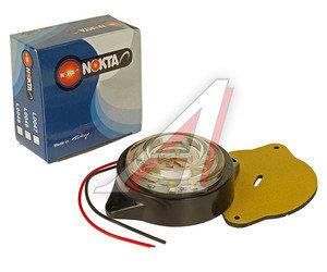 Фонарь габаритный LED 24V, круглый белый (d=55мм 10-светодиодов,солнышко) АВТОТОРГ НК-0047/LED б
