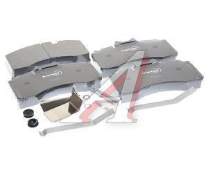 Колодки тормозные BPW TSB4390 (211х115х30мм) передние (4шт.) KORTEX TR02228, 29228/S2922801, 0980107960/0980107971