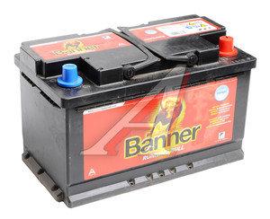 Аккумулятор BANNER Running Bull 80А/ч обратная полярность AGM 6СТ80 58001