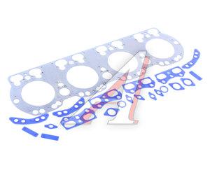 Ремкомплект ЯМЗ-238БЕ2,7511,658 головки блока (6 поз./15 дет., общая ГБЦ) силикон 238Д-1003214/15/500/523/524/114/238Д-1003212