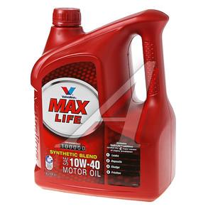 Масло моторное MAXLIFE п/синт.4л VALVOLINE SAE10W40