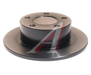 Диск тормозной VW Passat (97-05) AUDI 100 (91-94),A6 (95-05) задний (1шт.) TRW DF2651, 8E0615601/4A0615601A
