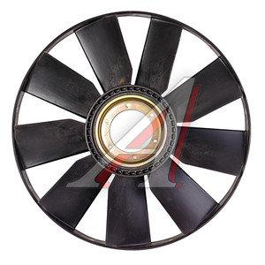 Вентилятор КАМАЗ-ЕВРО 704мм с обечайкой и выгнутым диском в сборе (07-) (дв.740.50,51) ТЕХНОТРОН 21-051