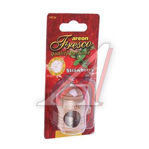 Ароматизатор подвесной жидкостный (клубника) Fresco AREON FR18, 704-051-918