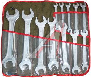 Набор ключей рожковых 8-27мм 11 предметов в сумке КЗСМИ КГД 11 (9430131), 12672