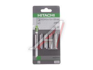 Пилка для лобзика набор 5шт. дерево/пластик HSS 91.5мм HITACHI HTC-750024