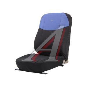 Авточехлы универсальные (L) полиэстер черно-синие (AIRBAG 8 предм.) Element PSV 126239, 126239 PSV