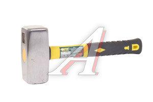 Кувалда 2кг металлическая /обрезиненная ручка FIT FIT-45203, 45203