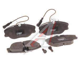 Колодки тормозные ALFA ROMEO 155 (92-97) (2.0-2.5) передние (4шт.) TRW GDB1058, 9950550/60777621