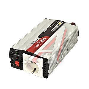 Преобразователь напряжения (инвертор) 12V-220V, 300Вт S-32007