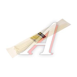 Хомут-стяжка 370х4.0 пластик белый (25шт.) ЭВРИКА ER-04372, CHS-4x370W-25