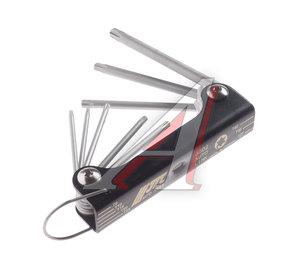 Набор ключей TORX T9H-T40H складных 8 предметов JTC JTC-3502