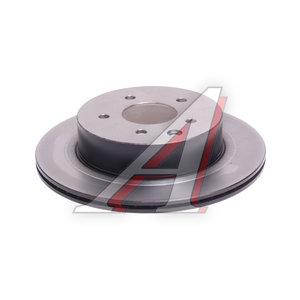Диск тормозной NISSAN X-Trail (T30,T31) (01-) (2.0/2.5/2.2 DCI) задний (1шт.) TRW DF4745, 43206-8H305/43206-8H700
