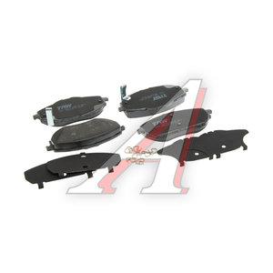 Колодки тормозные TOYOTA Corolla (13-) передние (4шт.) TRW GDB3598, 04465-02390