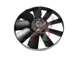 Вентилятор КАМАЗ-ЕВРО 704мм с вязкостной муфтой и обечайкой в сборе (дв.740.13,30,31) ТЕХНОТРОН 020004351, 21-406