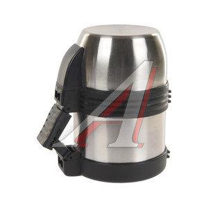 Термос 0.6л широкая горловина, сталь, с ручкой SPUTNIK MG600H
