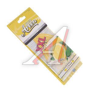 Ароматизатор подвесной пластина (лимон) Mon XXL AREON MAX04, 704-064-904