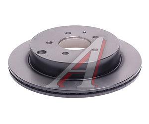 Диск тормозной MAZDA CX-7 (06-12) задний (1шт.) TRW DF6385, L206-26-251B