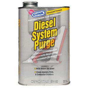 Очиститель форсунок (промывка) профессиональный для дизельных двигателей 946мл GUNK GUNK M8132ER, M8132ER