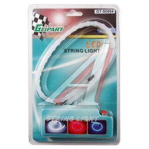Лента светодиодная гибкая 36 LED 0.4м красная (блистер) GLIPART GT-50954R