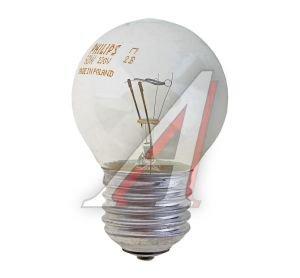 Лампа накаливания E27 P45 60W 230V шарик CL PHILIPS PHILIPS 60P45/CL/E27, 067029