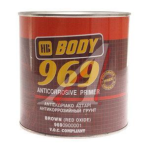 Грунт коричневый 1кг 969 BODY 9690900001, BODY