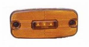 Фонарь габаритный желтый (светодиод, 24V) АВТОТОРГ 0651L