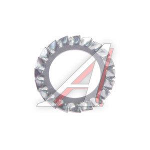 Шайба 20.5х33.0х2.2 стопорная с внешними зубьями DIN6798A