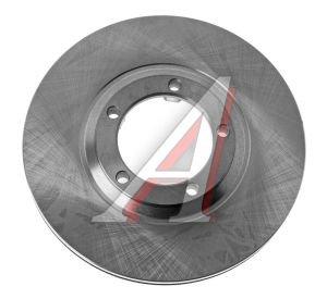 Диск тормозной HYUNDAI Porter передний (1шт.) VALEO PHC R1003, DF3119, 58129-44010