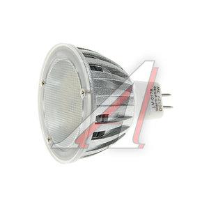 Лампа светодиодная MR16 3W(30W) 220V теплый MEGA LIGHTING LM-0178WW-MR16