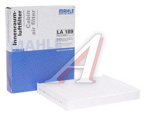 Фильтр воздушный салона OPEL Meriva (03-) MAHLE LA189, 6808604