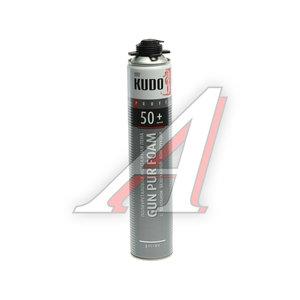 Пена монтажная 1000мл всесезонная полиуретановая с клапаном PROFF 50+ KUDO KUPP10S50+