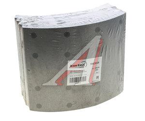 Накладка тормозной колодки SCANIA 3,4 series стандарт (413х203мм) (с заклепками) (4шт.) KORTEX TR029320R, 19932, 1535249