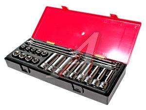 Набор инструментов 24 предмета TORX (ключи E6-E24, головки E10-E24) в кейсе JTC JTC-K4241