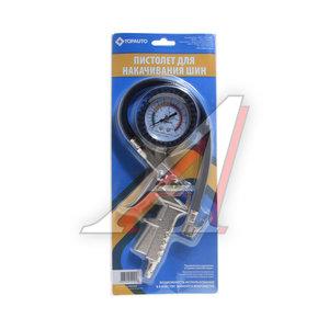 Пистолет для подкачки шин с манометром ТОП АВТО 4607009520018, 14444
