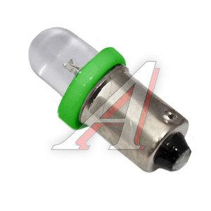 Лампа светодиодная 12V T4W BA9s Round Green MEGA ELECTRIC ME-0406G, А12-4-1