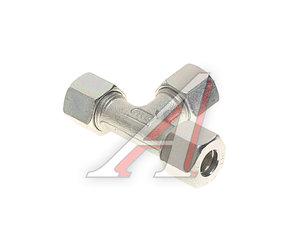 Соединитель трубки ПВХ,полиамид d=10мм тройник металлический HALDEX 032013909, 783004