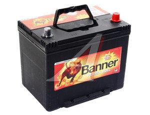 Аккумулятор BANNER Power Bull 70А/ч обратная полярность 6СТ70 P70 29, P70 29