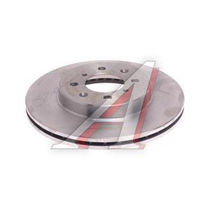 Диск тормозной HONDA Civic (01-) передний (1шт.) KORTEX KD0126, DF3021, 45251-SCC-900