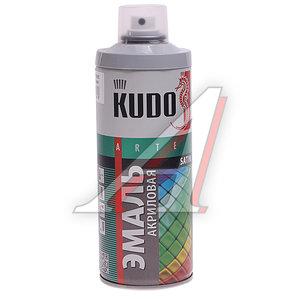 Краска серая акриловая satinRAL7001 520мл KUDO KUDO KU-0А7001, KU-0A7001