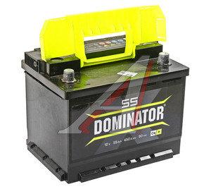 Аккумулятор DOMINATOR 60А/ч обратная полярность 6СТ60з, 83196