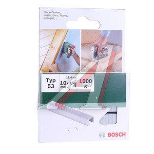 Скоба для степлера 10мм (1000шт.) BOSCH 2609255821
