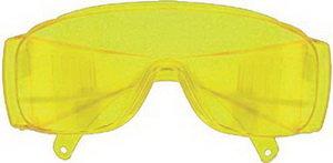 Очки защитные желтые с дужками FIT FIT-12220, 12220
