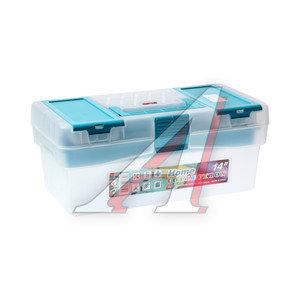 """Ящик для инструмента 356х192х150мм 14"""" прозрачный TAYG TAYG-14, 111594"""