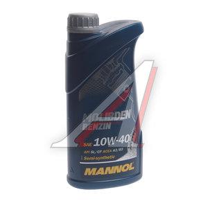 Масло моторное MOLIBDEN BENZIN 10W40 п/синт.1л MANNOL 1120, MANNOL SAE10W40