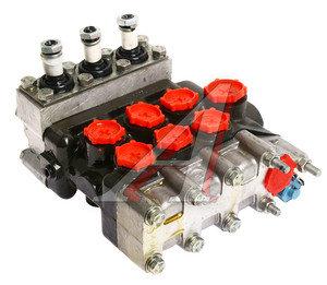 Гидрораспределитель Р80 3-х выводной ЭО-2621 МР80-4/1-444-4 Гидросила Р80-3/1-444-4, МР80-4/1-444, Р80-3/1-444