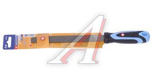 Напильник плоский 200мм прорезиненная ручка №2 BRIGADIER 62021
