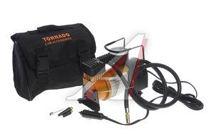 Компрессор автомобильный 7атм. 14А 12V 100PSI (поршневой,сумка) TORNADO AC-580M